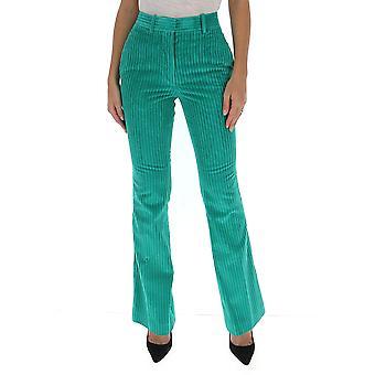 Victoria Beckham 1320wtr01727e Femmes-apos;s Pantalon en coton vert