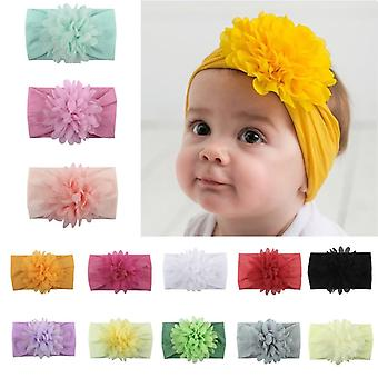 Newborn Baby Cotton Blend Bow Hairband