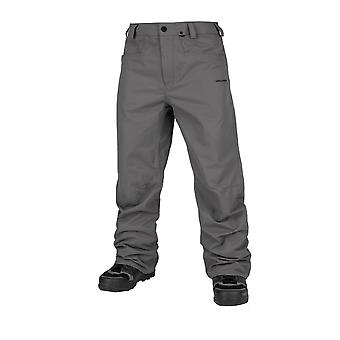 Volcom Carbon Print Trousers - Charcoal