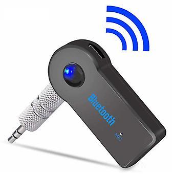 Stoff zertifiziert® Bluetooth 5.0 Empfänger Sender AUX-Buchse 3,5 mm - Wireless Adapter Audio Receiver Stream Freisprecheinrichtung Telefonieren + Mikrofon