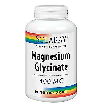 Solaray Magnésio Glycinate, 400 mgs, 120 Caps