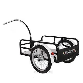 Outdoor Bicycle Trailer, Utility Cargo, Cycling Luggage Shopping Cart Carrier,