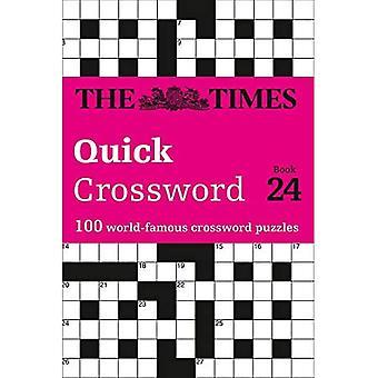 The Times Quick Crossword Book 24: 100 Puzzles de connaissances générales du Times 2
