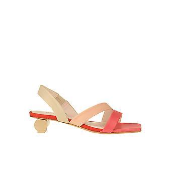 Anna Baiguera Ezgl238021 Sandálias de Couro Multicoloridas