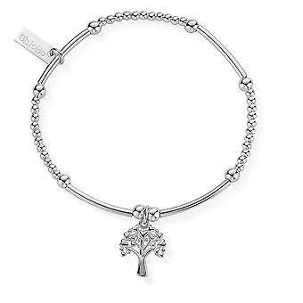 ChloBo mignon mini coeur arbre de vie bracelet SBBM690
