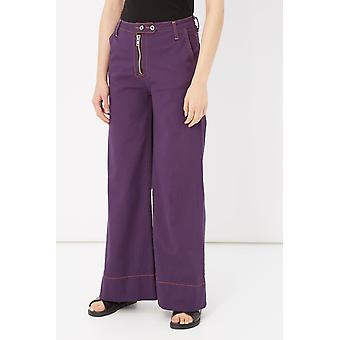 Please Viola Violet Pants & Jean