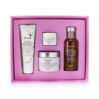 Rose Deep Hydration Skincare Set - 4pcs