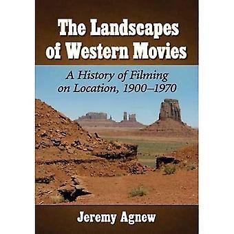Länsimaisten elokuvien maisemat: Kuvausten historia paikan päällä, 1900-1970
