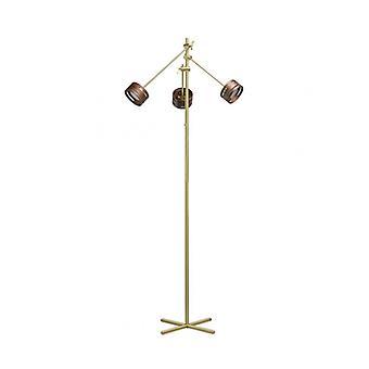 Golden Floor Lampe Megapolis 3 Pærer 152 cm