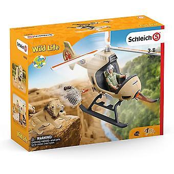 Schleich WILD LIFE Hélicoptère de sauvetage animalier