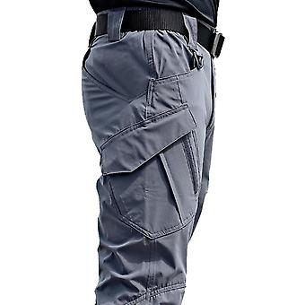 Men's Tactical Multiple Pocket Elasticity Military Urban Trousers Pant