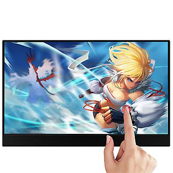 Tragbarer Touchscreen Hdr Ips Gaming Monitor, Usb Typ C Hdmi