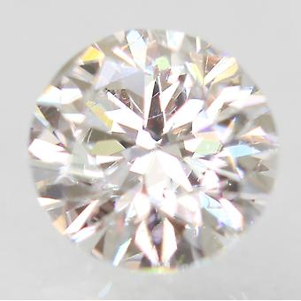 Sertifioitu 0,50 karat D VS1 pyöreä brilliant parannettu luonnollinen löysä timantti 4,98mm