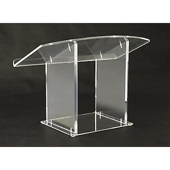 Tabletop Lectern Clear Plexiglas Podium (lctdskkdac) Plexiglass
