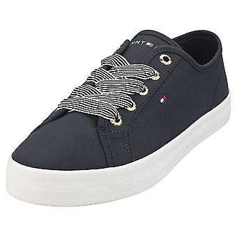 Tommy Hilfiger Essential Nautical Sneaker Womens Casual Trainers in Desert Sky