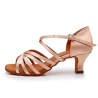 Nové horké latinskoamerické taneční boty na podpatku