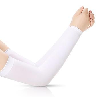 Running Arm Sleeves Ice Silk Sunscreen Sonnenschutz Lange Handschuhe Armwärmer