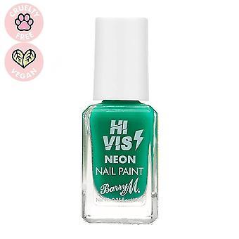 Barry M Hi Vis Neon Nail Paint - Groen licht