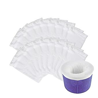 Pool Skimmer Socks Tubs Reusable Removes Debris Basket Socks