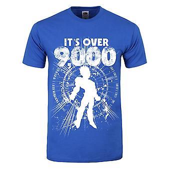 Grindstore Mens Its Over 9000 T-Shirt