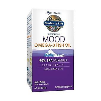 Minami Mood Omega-3 Fish oil 60 softgels