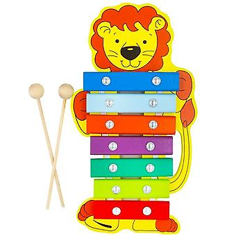 """Alatoys Wooden  Xylophone """"Lion""""painted"""