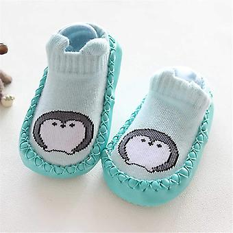 Calzini piede neonato Pu con maglieria cartoon animal baby shoes