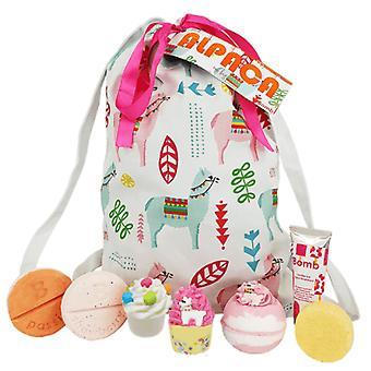 Bomb kosmetika tvättpåse set - Alpacka min väska