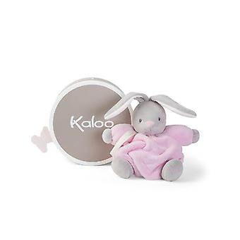 Kaloo plume soft toy rabbit pink 18cm