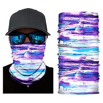 3Kpl silkkinen nopeasti kuivuva uv kestävä bandanas xhs-318