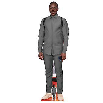 Ncuti Gatwa Kändis Lifesize Cardboard Cutout / Standee