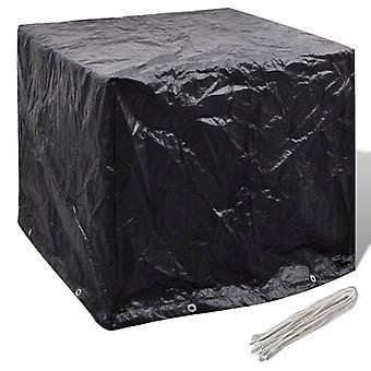 Cover tarpaulin for garden water tank 8 eyelets 116 x 100 x 120 cm