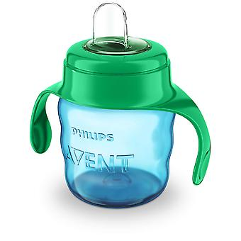 Avent Infantile Glass with Green Soft Mouthpiece 200 ml