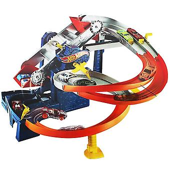 Wheels Roundabout Electric Carros Track Model