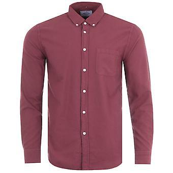 Portuguese Flannel Belavista Oxford Shirt - Bordeaux