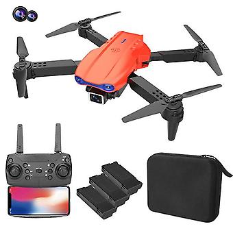 K3 med 4k hd kamera drone selfie rc quadcopter fällbar arm uav höjd håll läge helikopter dron leksak gåva för barn