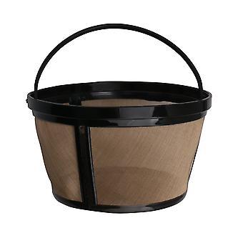 Filtro de máquina de café de apertura ancha 8 a 12 tazas estilo cesta para café