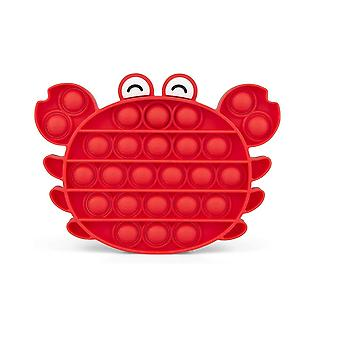 Krabbform push it fidget toy stress reliever