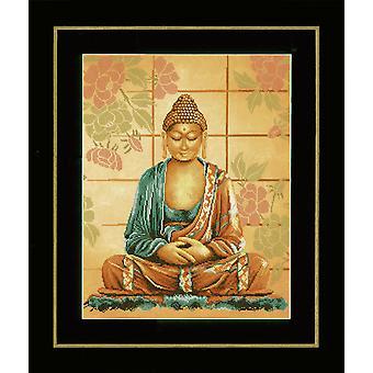 Vervaco telt korssting kit: Buddha