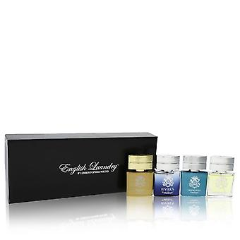 Riviera by English Laundry Gift Set -- Gift Set includes Notting Hill, Riviera, Oxford Bleu, and Arrogant, all in .68 oz Mini EDP Sprays