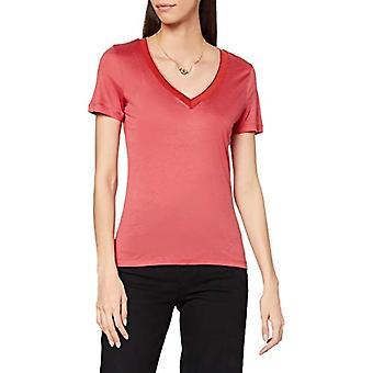 Scotch & Soda T-Shirt aus Tencel mit V-Ausschnitt, 3930 Roze Smoothie, XS Vrouw