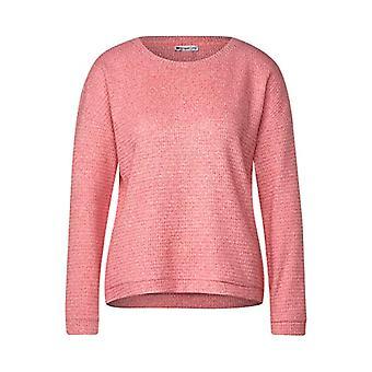 Street One 315504 T-Shirt, Sugar Pink Melange, 50 Woman