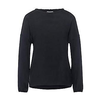 Street One 315831 T-Shirt, Dark Shaded Grey, 34 Woman