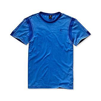 G-STAR RAW Motac-x R N S/s T-Shirt, Black (Hudson Blue 1855), Large Men