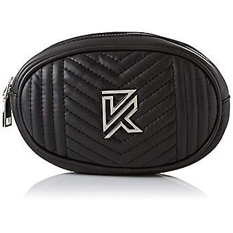 Kaporal Yedef - Handbag, Black (Black W04)), 5.5x11.5x17.5 cm (W x H x L)