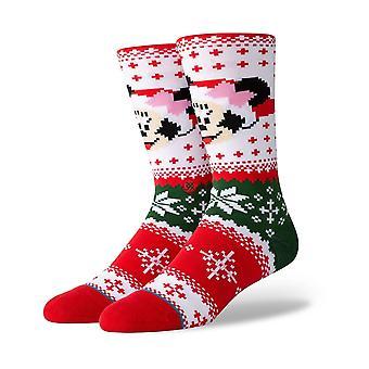 Stance Minnie Claus besättning strumpor i multi
