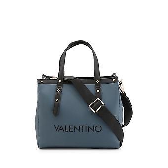 Valentino af Mario Valentino - Tasker - Håndtasker - GRANDE-VBS4I202-PETROL-NERO - Kvinder - steelblue, sort