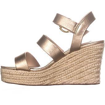 Steve Madden Womens Valery Open Toe Casual Platform Sandals