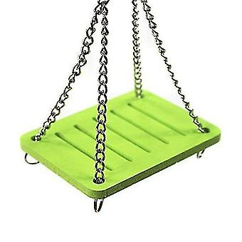 Green hamster swing color ecological board swing toy hamster toy hamster supplies toy x1749