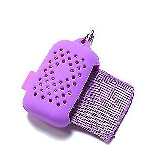 Serviettes de refroidissement violettes pour les athlètes comme chiffons frais pour le cou refroidissement wrap x5408